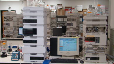 Photo of Aspects of the Agilent 1260 Infinity Binary LC
