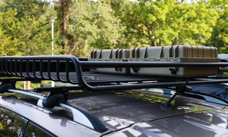 Photo of Types of car roof luggage carrier